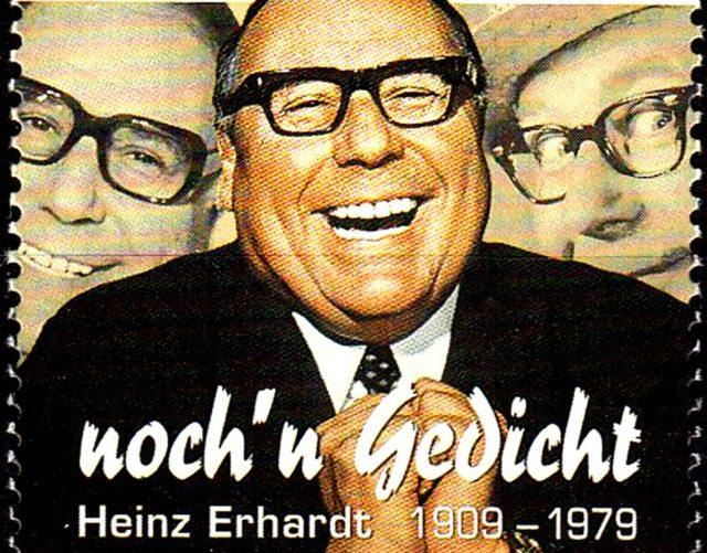 Heinz Erhardt Briefmarke detail