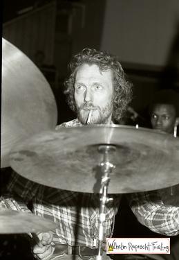 Ginger Basker drummer1