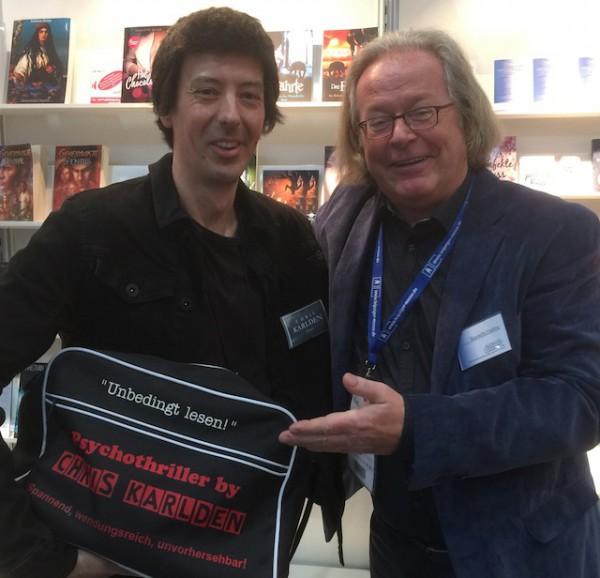 Chris Karlden starete als erfolgreicher Self-Publisher und veröffentllicht seinen nächsten Krimi im Aufbau-Verlag