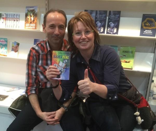 Volker und Claudia Pertermann aus Leipzig sind Fans vom »Bücherprinz«: