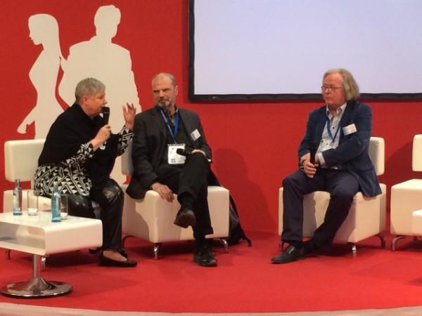 Self-Publisher im Kreuzverhör: Talk mit Nika Lubitsch und Hans Peter Roentgen