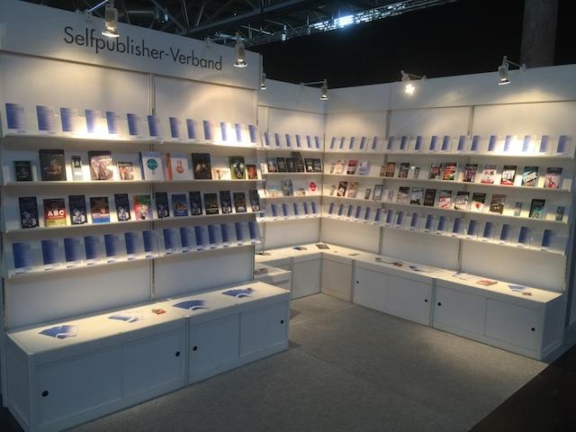 Der Stand des Selpublisher-Verbandes auf der Leipziger Buchmesse 2016
