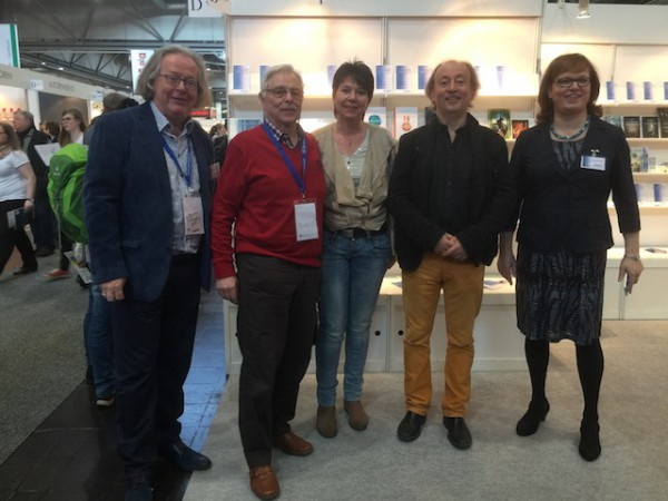 Aktiv für Self-Publisher (von links): Ruprecht Frieling, George Tenner, Angela Planert, Matthias Matting, Vera Nentwich