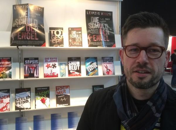 L.C: Frey las im Rahmen von »Leipzig liest« aus seinem Thriller