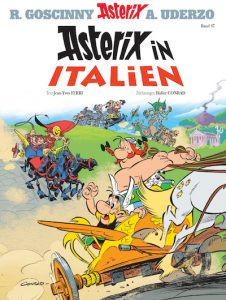 Asterix in Italien Cover hires