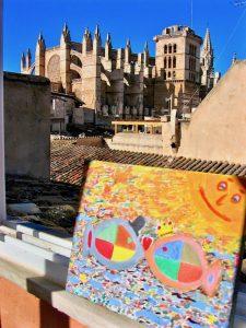 Verliebte Fische Kathedrale La Seu Palma