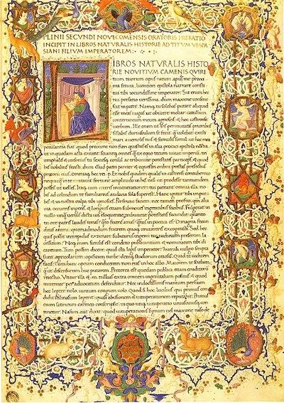 Plinius Naturalis historia