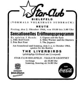 Starclub bielefeld 1964