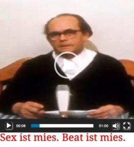 Egon Hoegen sex ist mies