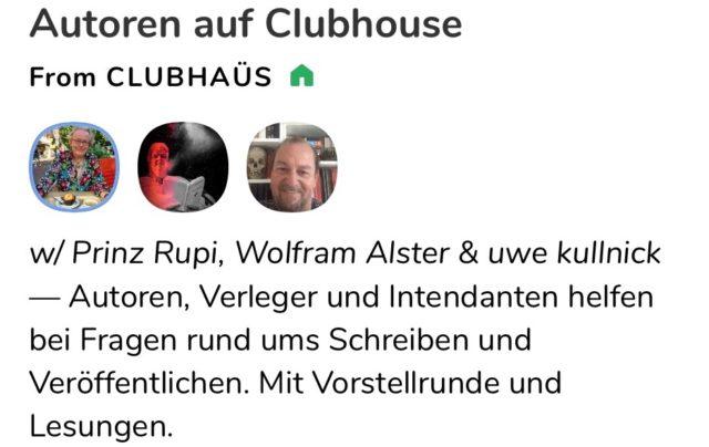 autoren auf clubhouse
